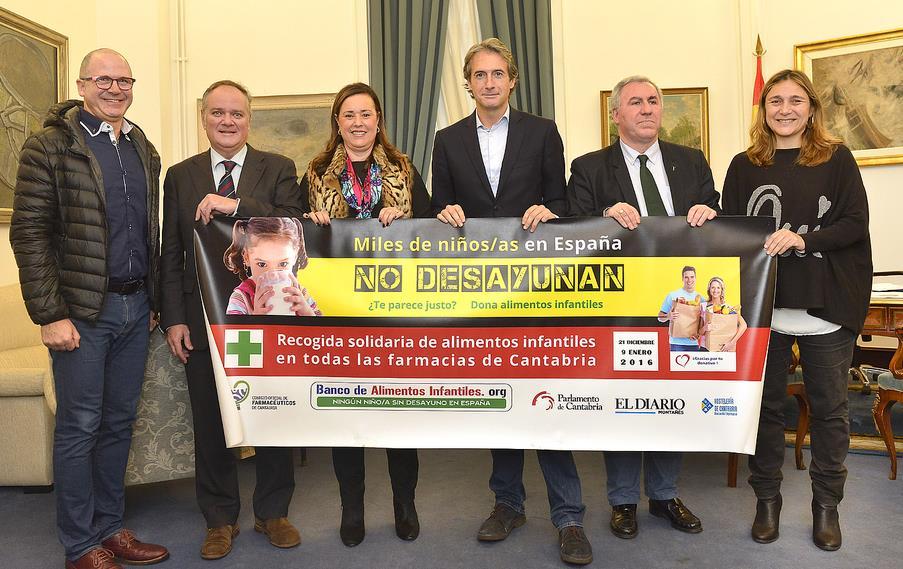 El Ayuntamiento de Santander cede un local al Banco de Alimentos Infantiles