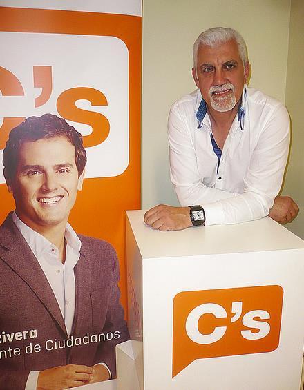 Jesús Calleja, designado nuevo delegado territorial de Ciudadanos (C's) de Cantabria