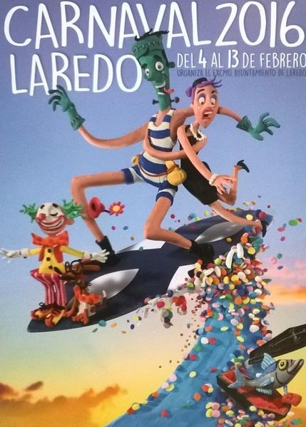 Laredo presenta su cartel de carnaval