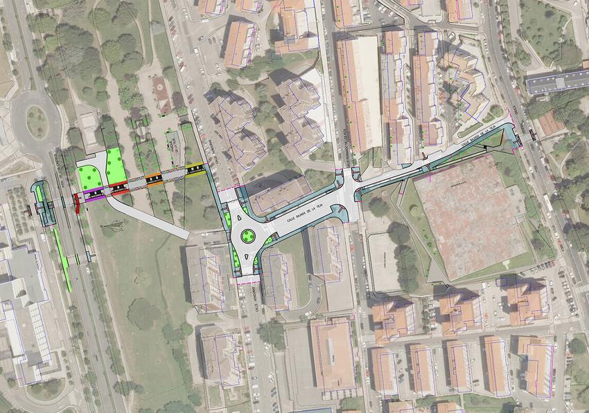 Las obras de las escaleras mecánicas entre la UC y el paseo de General Dávila comenzarán en febrero