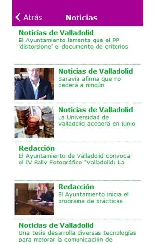 'Noticias de Valladolid', proyecto de Cantabria Diario, lanza su aplicación en Google Play