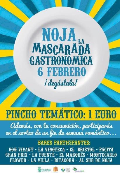 Bares y establecimientos de Noja ofrecerán pinchos a un euro con su 'Mascarada Gastronómica'