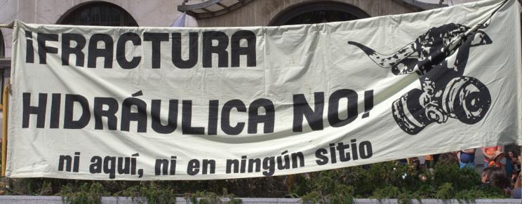 Manifestación contra el 'fracking' en Santander / Foto: archivo CANTABRIA DIARIO