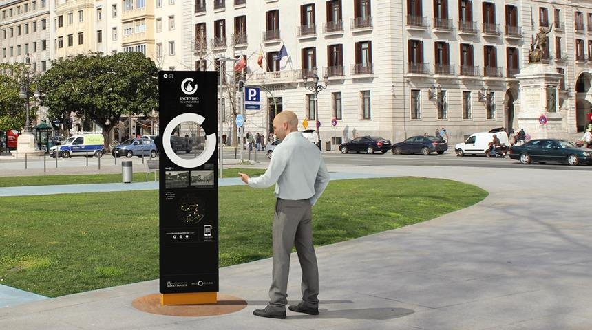 Santander amplía su anillo cultural con «La ruta del incendio»