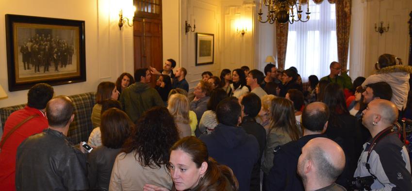 Cerca de 4.000 personas han visitado estos días el Palacio de la Magdalena