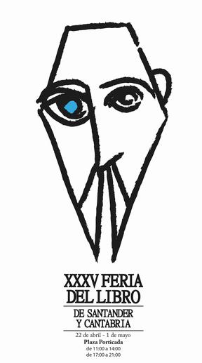 El diseñador gráfico Jorge Ortiz gana el concurso de carteles de esta cita cultural que se celebrará del 22 de abril al 1 de mayo