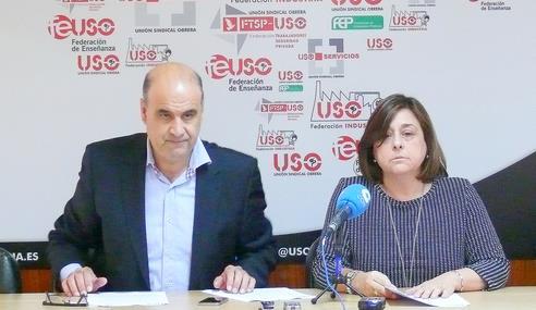 Justino Sánchez y Mercedes Martínez