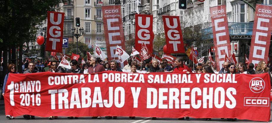 Miles de personas se manifiestaron el 1 de mayo contra la pobreza salarial y social