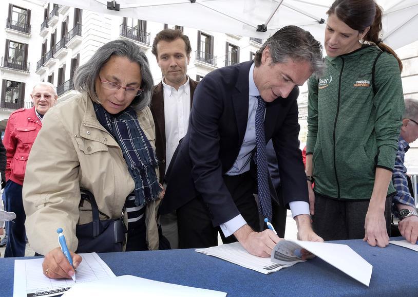 Más de 5.000 personas han apoyado ya la candidatura de Ruth Beitia para el Premio Princesa de Asturias del Deporte
