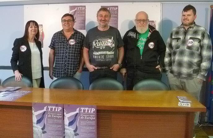 """""""El nuevo rapto de Europa"""", jornadas sobre el TTIP organizadas por Cantabria por lo Público"""