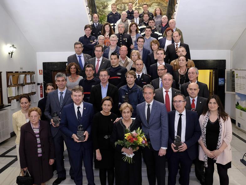 Santander homenajea a quienes ayudaron en el incendio de 1941