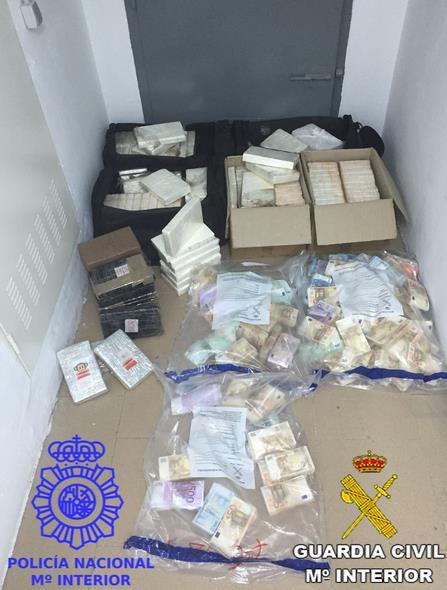 Detenidos en Madrid, Cantabria y Toledo con grandes cantidades de cocaína
