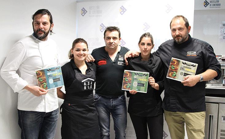 """Asubio Gastro Bar gana el 13º Concurso Regional de Pinchos con su """"Rosbeef"""""""