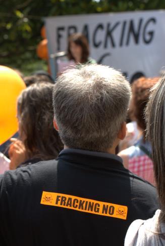 "Manifestación contra el ""fracking"" (Archivo CANTABRIA DIARIO)"