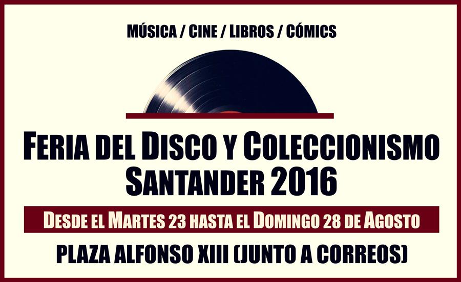 Llega la Feria del Disco y Coleccionismo de Santander