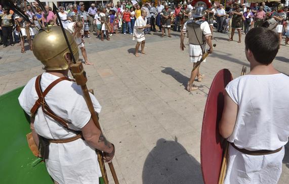El Festival Romano de los Santos Mártires se celebrará del 26 al 28 de agosto en la plaza de Juan Carlos I y la Alameda de Oviedo / Foto: archivo