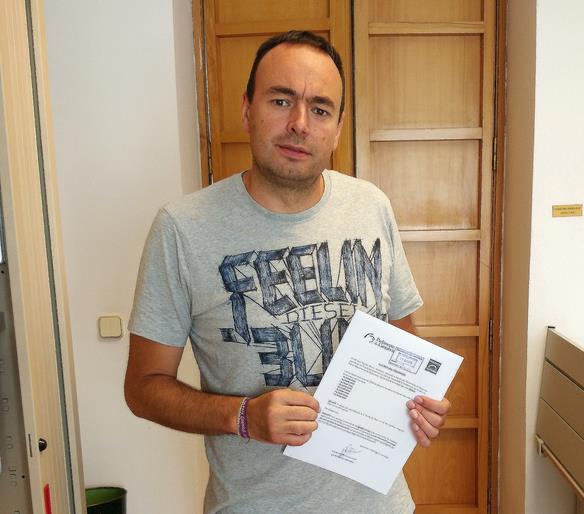 José Ramón Blanco, diputado de Podemos Cantabria / Podemos afirma que el Gobierno 'incumple' su obligación de remitir datos sobre el informe de Sodercan