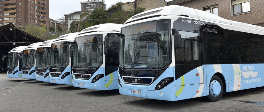 El TUS contará con seis nuevos autobuses híbridos