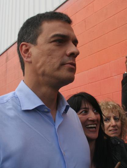 Pedro Sánchez en Torrelavega (Archivo)