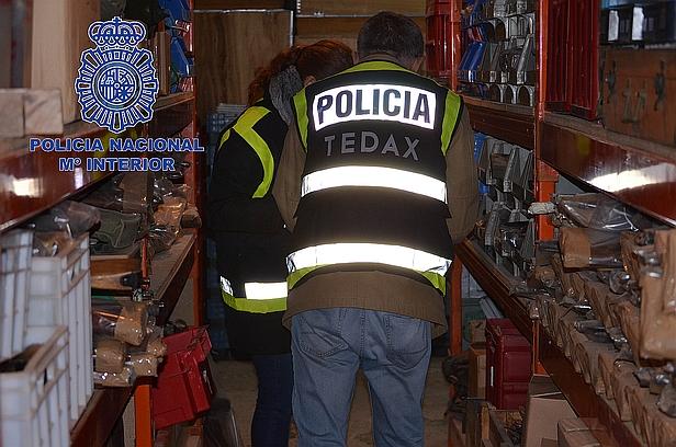 Detenidos en Liendo por vender armas a grupos terroristas y delincuencia organizada
