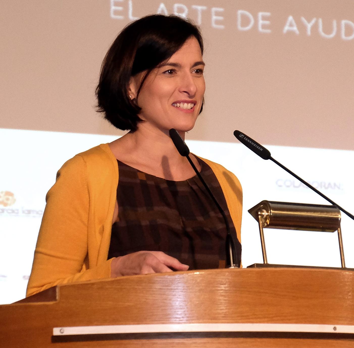 Gema Igual, Alcaldesa de Santander-Archivo