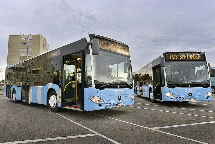 Adjudicado el suministro de los nuevos autobuses híbridos de Santander