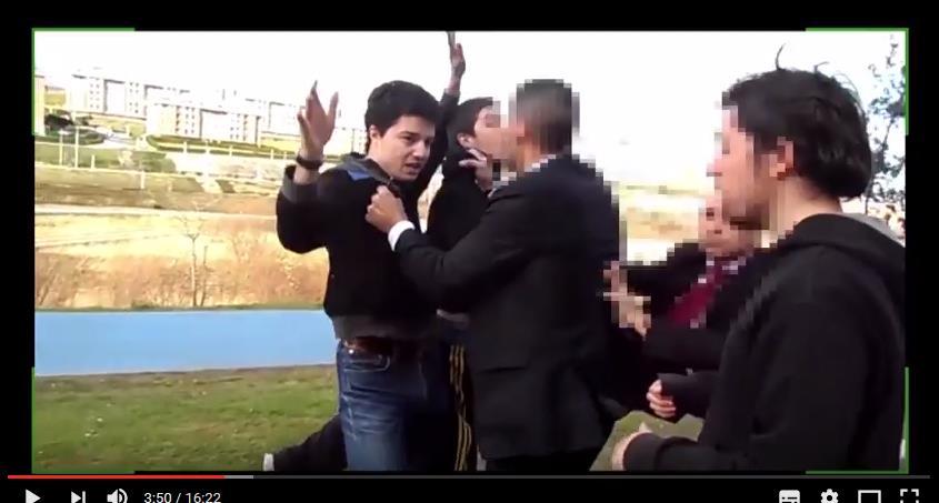 Los acusados por el escrache al expresidente Ignacio Diego reclaman la valoración judicial del vídeo que recoge el incidente