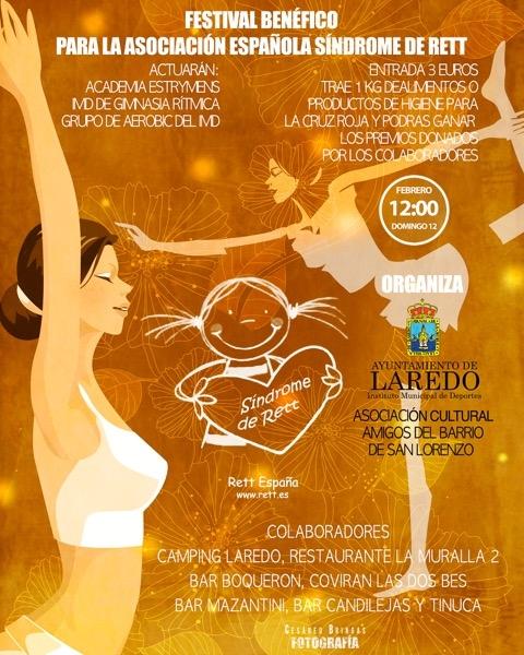 Laredo acogerá un festival benéfico a favor de la Asociación Española Síndrome de Rett