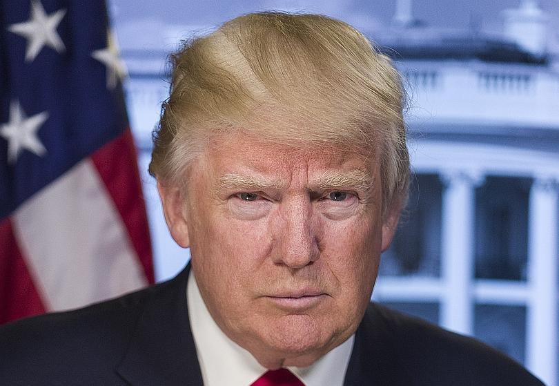 Donald J. Trump, foto oficial de la Casa Blanca