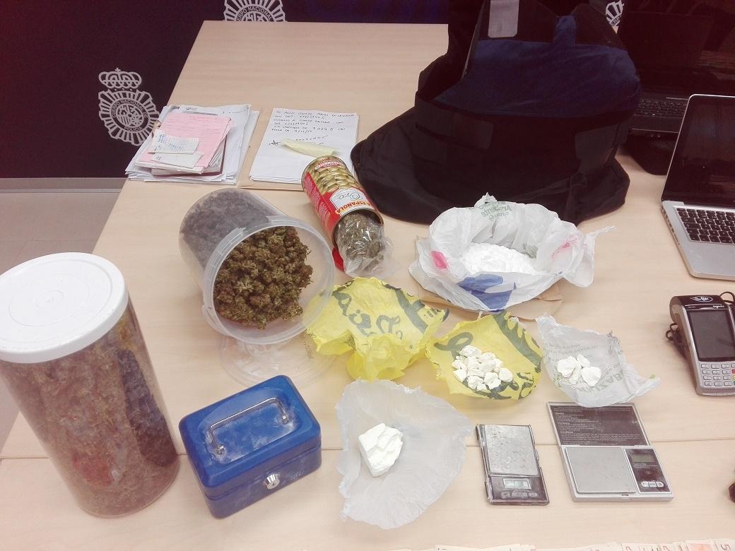 Desarticulado un grupo criminal dedicado al tráfico de drogas y al blanqueo de capitales