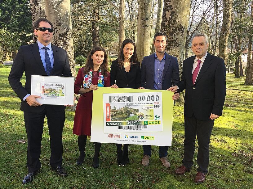 La ONCE dedica un cupón a Liérganes