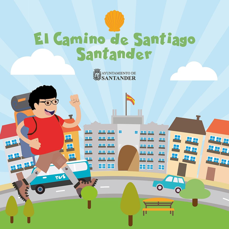 Presentada una guía infantil sobre el Camino de Santiago a su paso por Santander