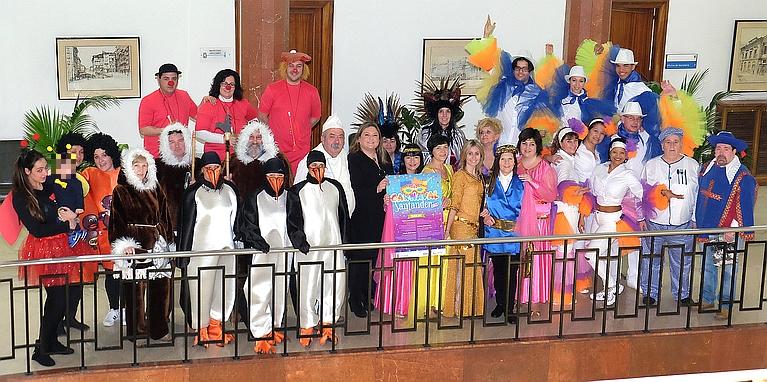 Más de 1.000 personas participarán en el Carnaval de Santander
