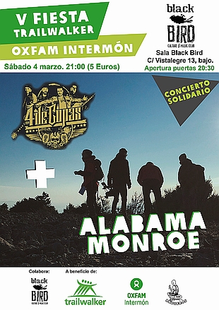Oxfam Intermón organiza un concierto solidario en la sala Black Bird