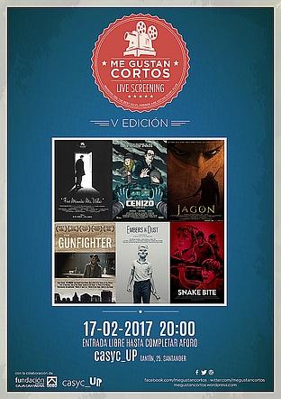 """V edición de la muestra internacional de cortometrajes """"Me gustan cortos"""""""