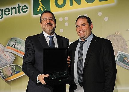 Jaime Acebo Pérez, mejor vendedor de la ONCE en Cantabria