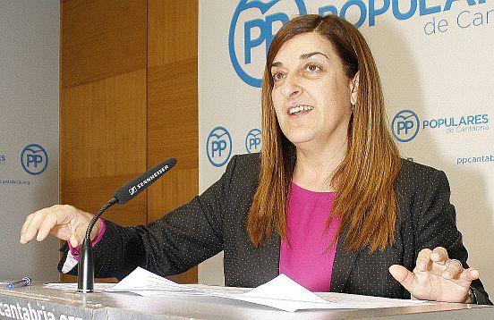 María José Sáenz de Buruaga (C) David Laguillo / CANTABRIA DIARIO