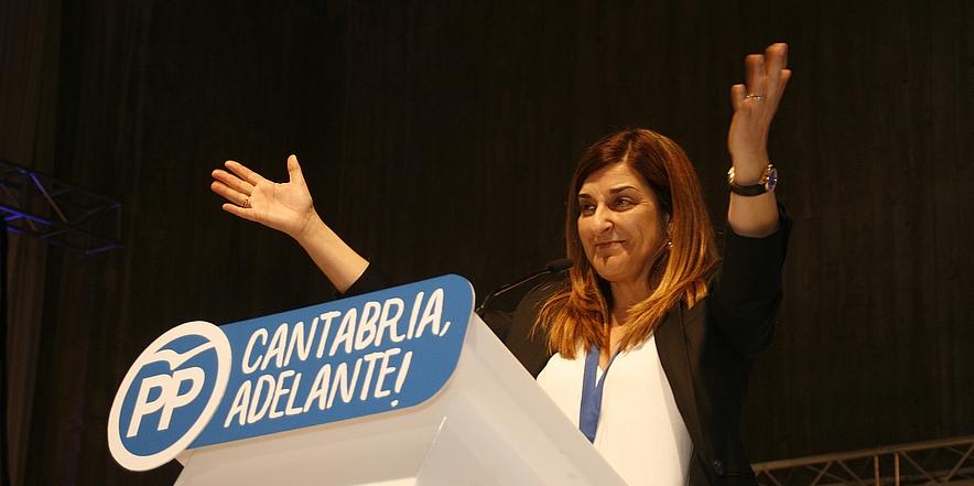 María José Sáenz de Buruaga, nueva Presidenta del PP de Cantabria (C) CANTABRIA DIARIO - DAVID LAGUILLO