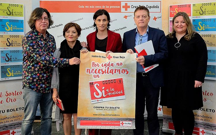 Santander acogerá en julio el Sorteo del Oro de Cruz Roja