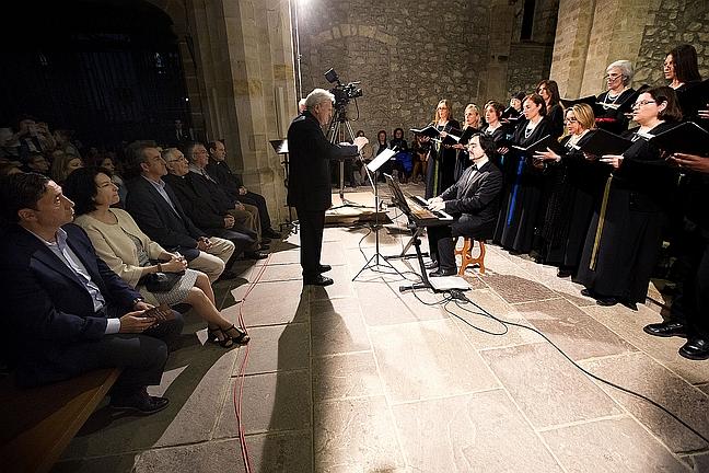 El Coro Filarmónico Vaticano abrió anoche las actuaciones artísticas del Año Jubilar / Foto: Lara Revilla, Gobierno de Cantabria