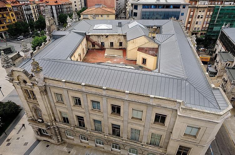 Finalizan las obras de rehabilitación del Ayuntamiento de Santander