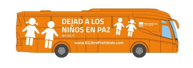 El autobús de «Hazte Oír» pone en pie de guerra a los colectivos sociales de Cantabria