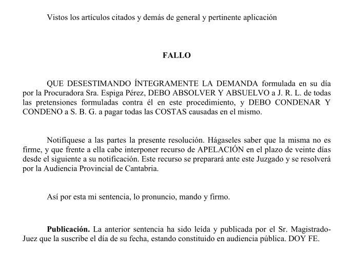 Desestimada la demanda de Salvador Blanco contra el secretario general de Podemos Cantabria, Julio Revuelta