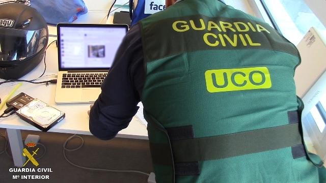 La Guardia Civil desmantela una organización que, mediante microestafas en telefonía móvil, habría defraudado más de 30 millones