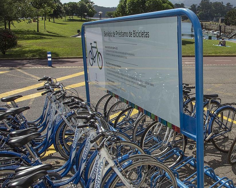 El servicio de préstamo de bicicletas de Camargo entregará a partir de este año un carnet a cada usuario