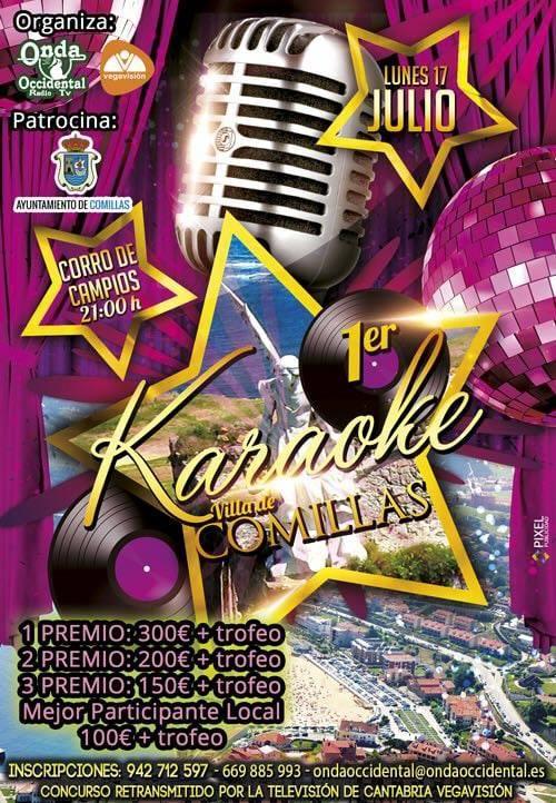 Comillas celebrará su primer trofeo de Karaoke