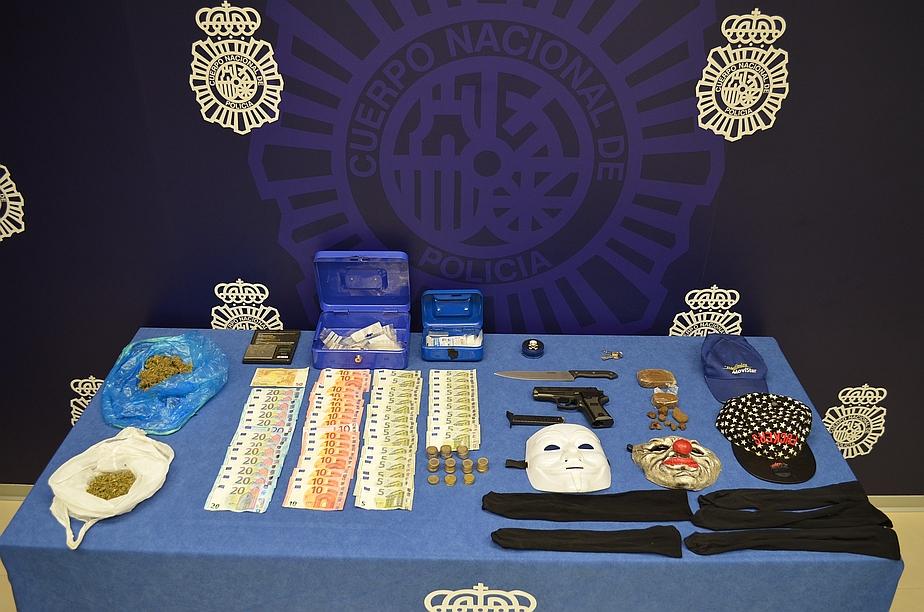 Desarticulado un grupo de cuatro individuos dedicado al tráfico de drogas