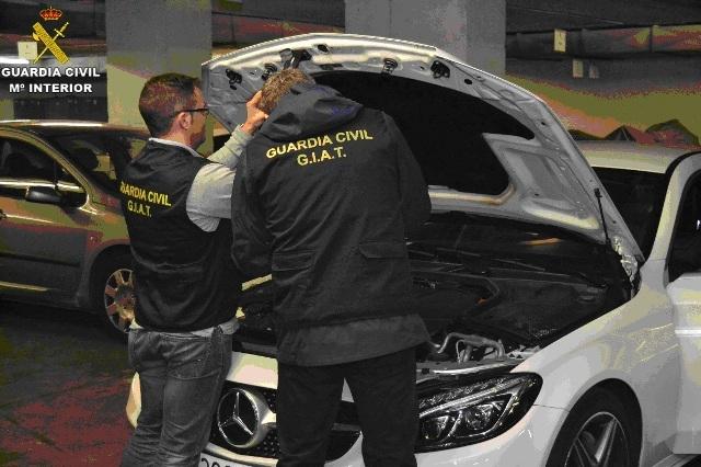 La Guardia Civil detiene a 23 personas por simular operaciones de compraventa de vehículos para acogerse a las subvenciones del Plan PIVE