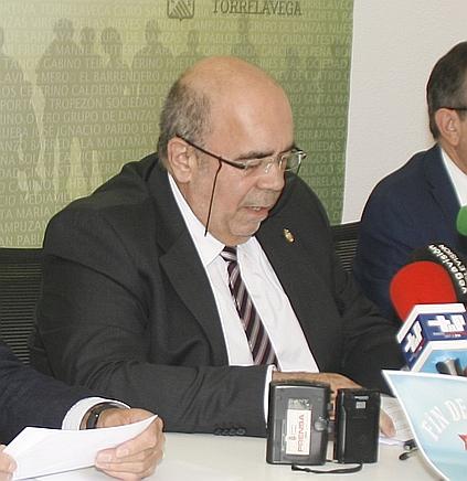 Oria anuncia que se podrá volver a pescar en los ríos de Cantabria - Jesús Oria, Torrelavega, 4 de julio de 2017