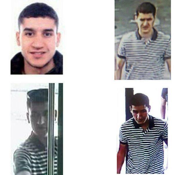 La Policía pide ayuda para localizar al presunto conductor del atentado en Barcelona - Younes Abouyaaqoub, fuente: Policía Nacional